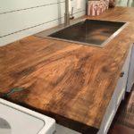 столешница из дерева для кухни идеи дизайн