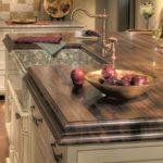 столешница из дерева для кухни идеи дизайна