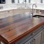 столешница из дерева для кухни декор