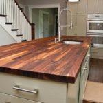 столешница из дерева для кухни варианты