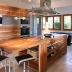 столешница из дерева для кухни идеи оформление