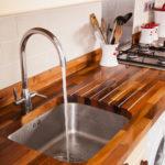 столешница из дерева для кухни виды декора