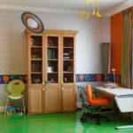 виниловые обои в квартире фото интерьер