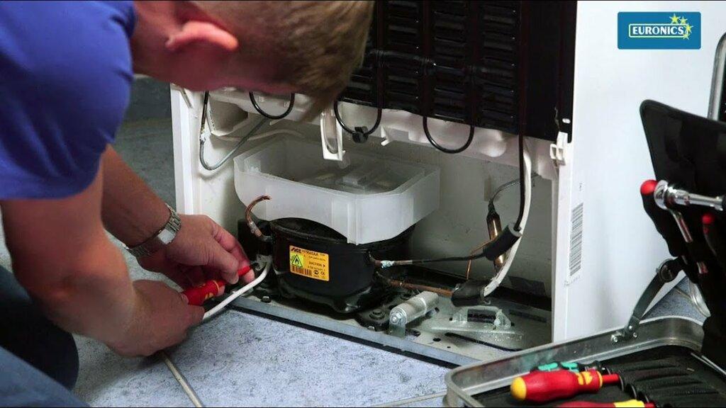 замена компрессора холодильника