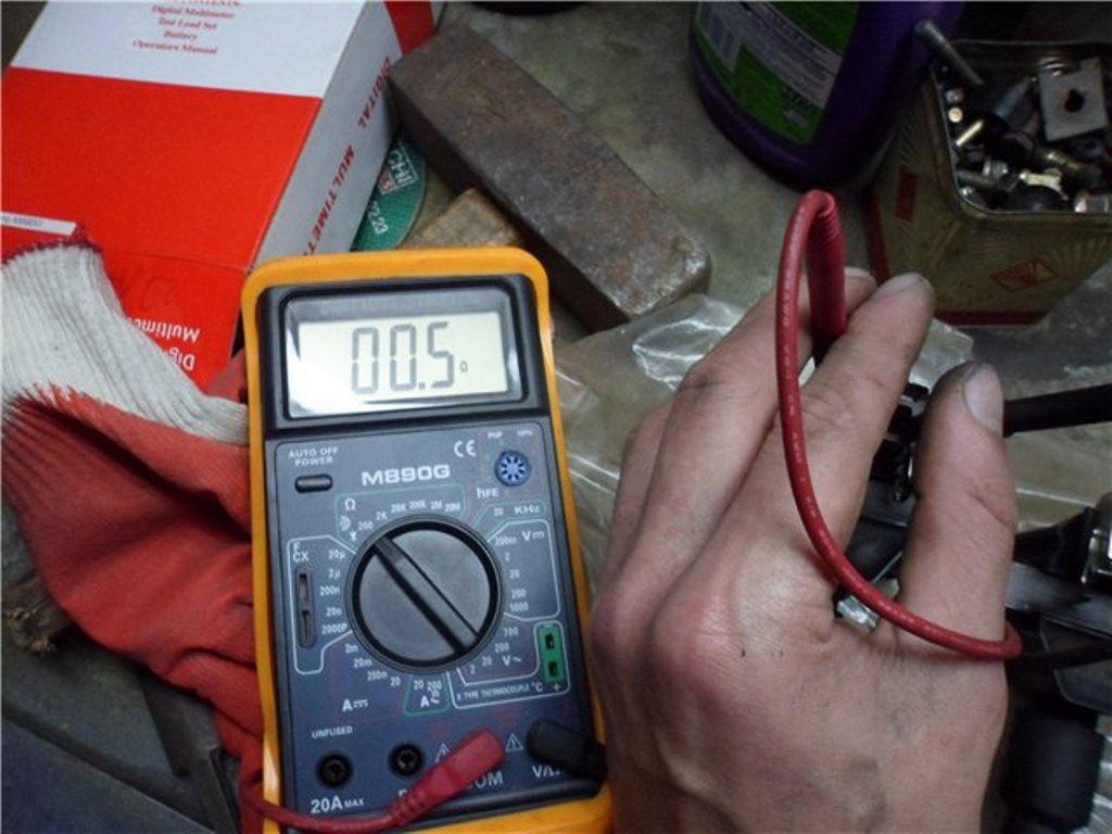замер показателей компрессора