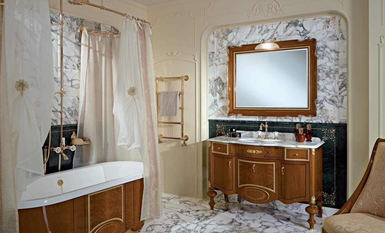 аксессуары для ванной барочный стиль