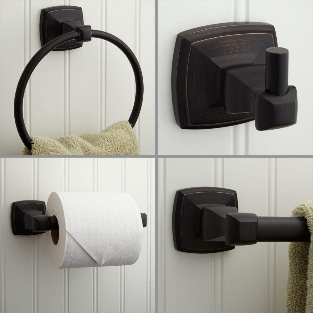 аксессуары для ванной из дерева