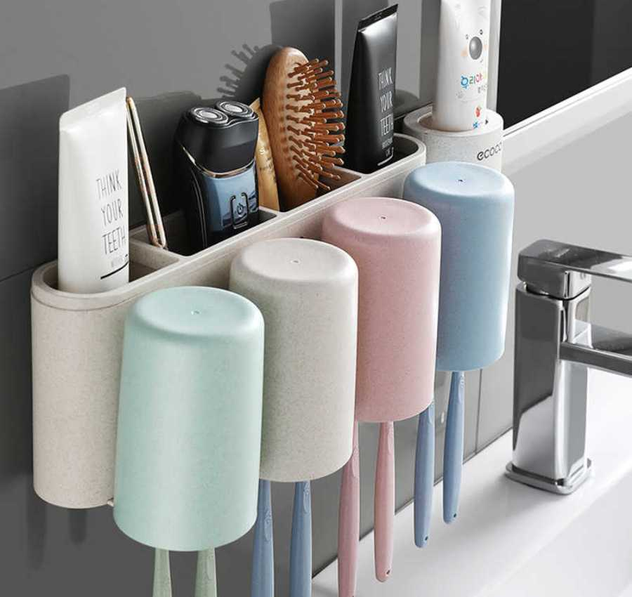 аксессуары для ванной из пластика