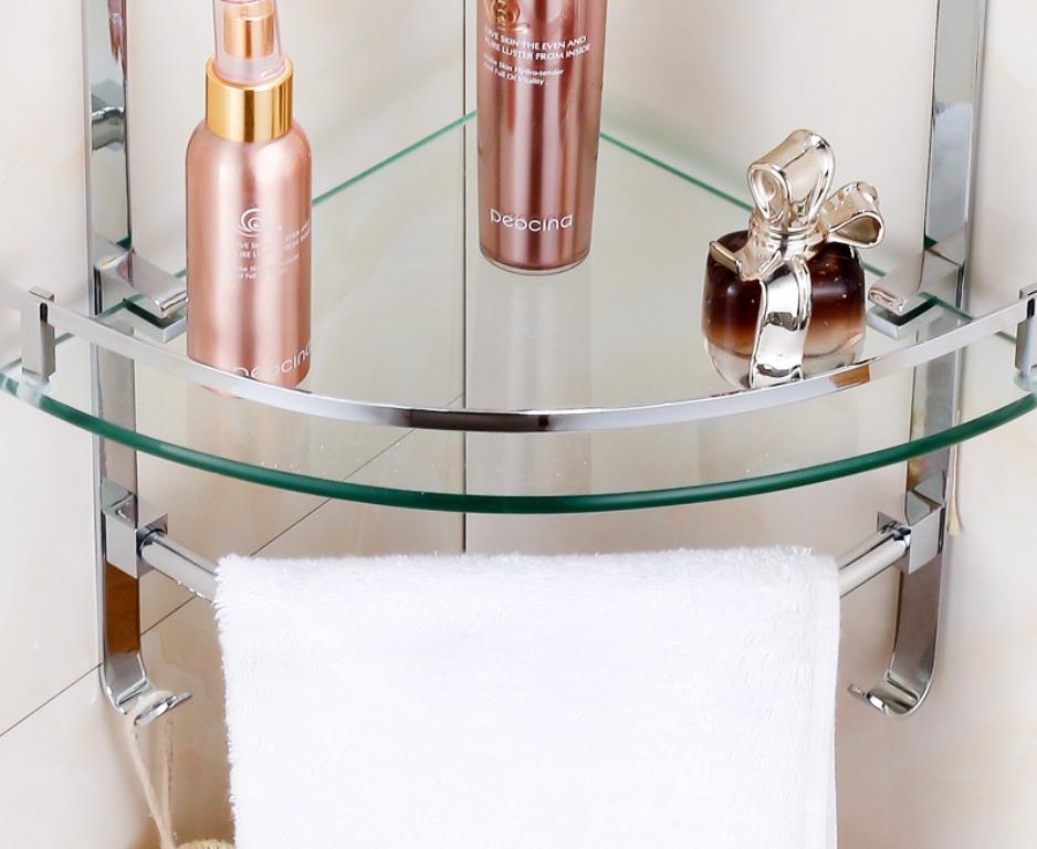 аксессуары для ванной из стекла