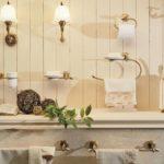 аксессуары для ванной комнаты интерьер