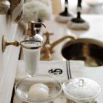 аксессуары для ванной комнаты виды декора