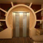арка из гипсокартона фото виды