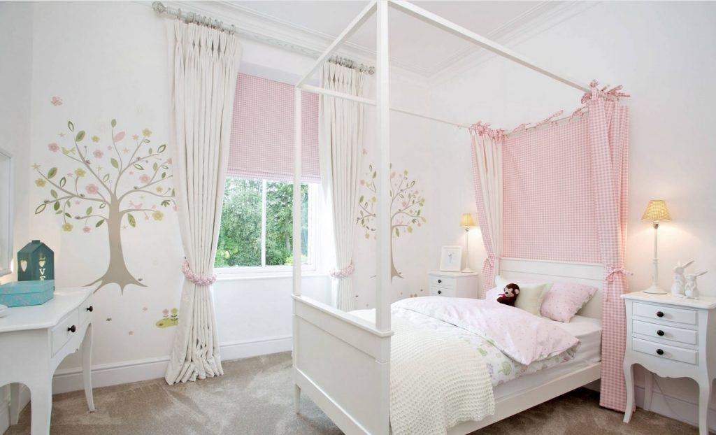 балдахин над кроватью для девочки