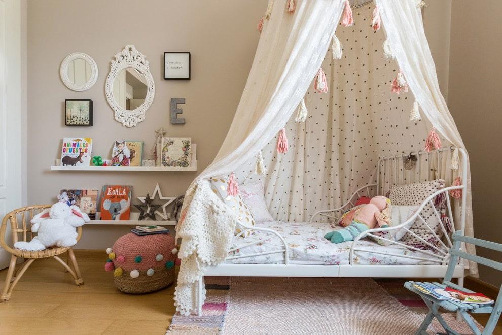 балдахин над кроватью фото дизайна