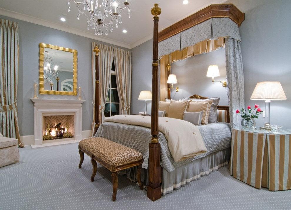 балдахин над кроватью идеи дизайн