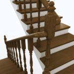 балясины для лестниц интерьер фото