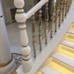 балясины для лестниц фото интерьер