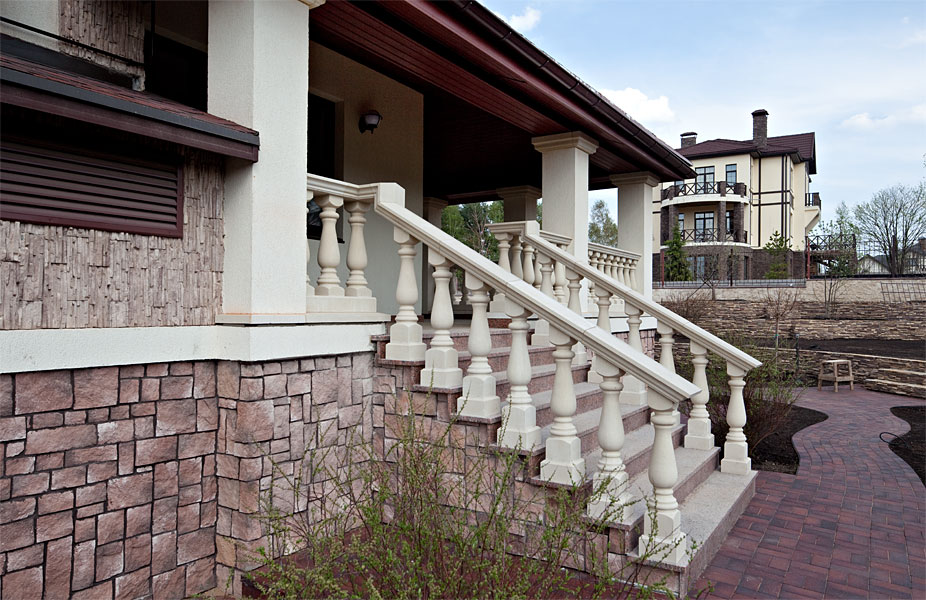 балясины для лестницы бетон