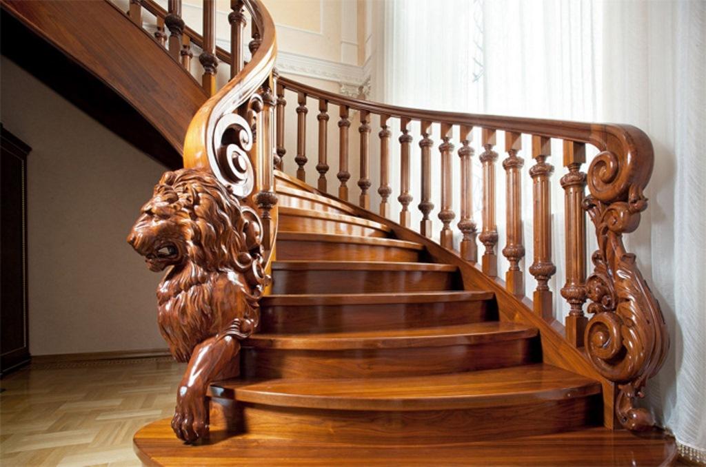 балясины для лестницы дизайн