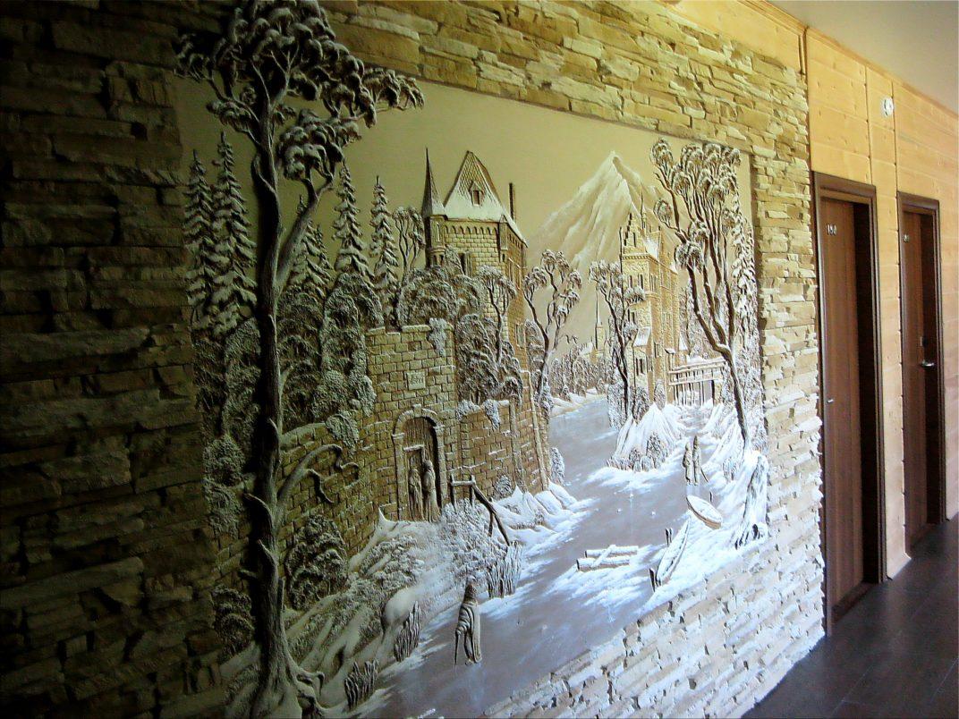 барельеф на стену декор