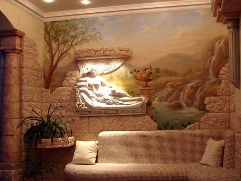 барельеф на стену дизайн фото