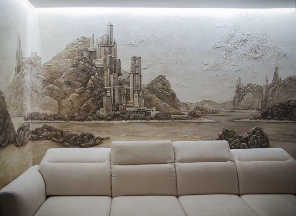 барельеф на стену фото декора
