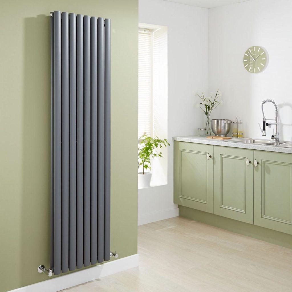 биметаллический вертикальный радиатор отопления
