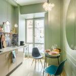 цвет стен на кухне идеи видов