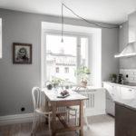 цвет стен на кухне интерьер