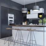 цвет стен на кухне варианты фото