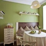 цвет стен на кухне виды