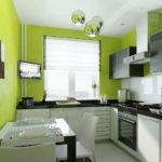цвет стен на кухне виды фото