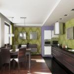цвет стен на кухне виды идеи