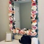 декор зеркала своими руками фото оформления