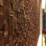 деревянные панели для отделки стен интерьер