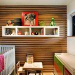 деревянные панели для отделки стен фото оформление