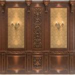 деревянные панели для отделки стен фото идеи