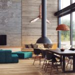 деревянные панели для отделки стен идеи оформления