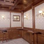 деревянные панели для отделки стен фото виды