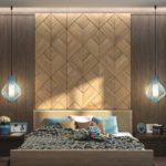 деревянные панели для отделки стен фото дизайн