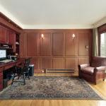 деревянные панели для отделки стен фото дизайна