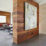 деревянные панели для отделки стен идеи дизайн