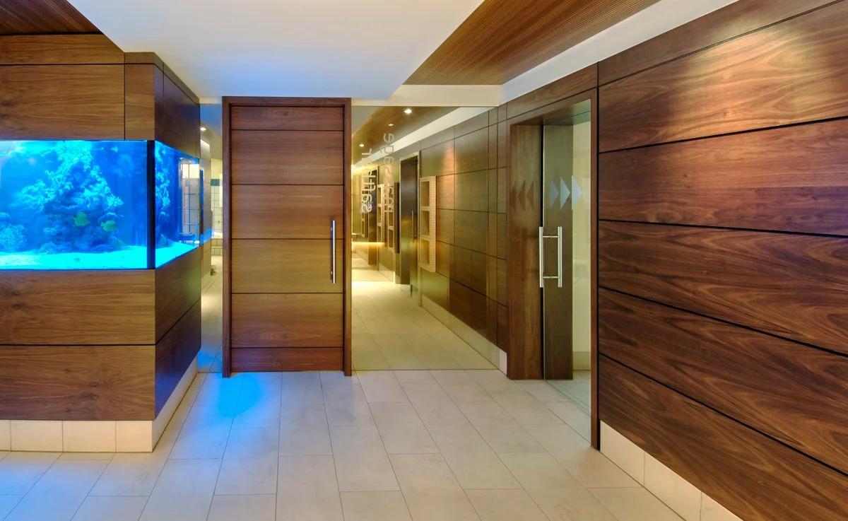 деревянные панели для стен фото дизайна