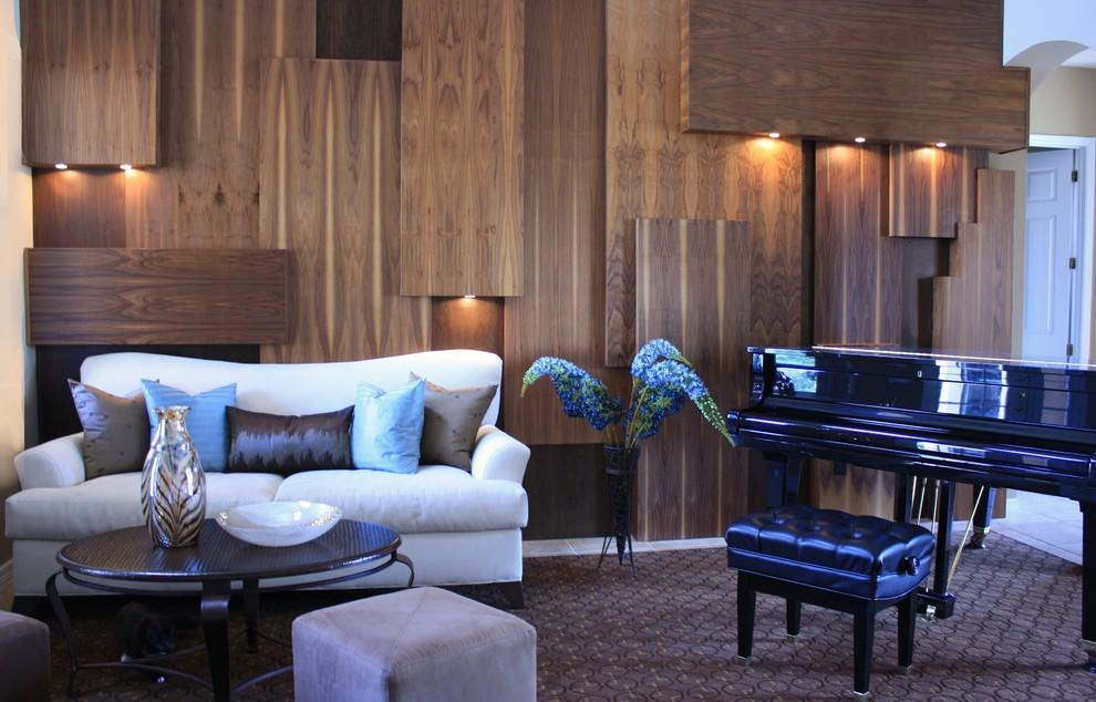 деревянные панели для стен идеи фото