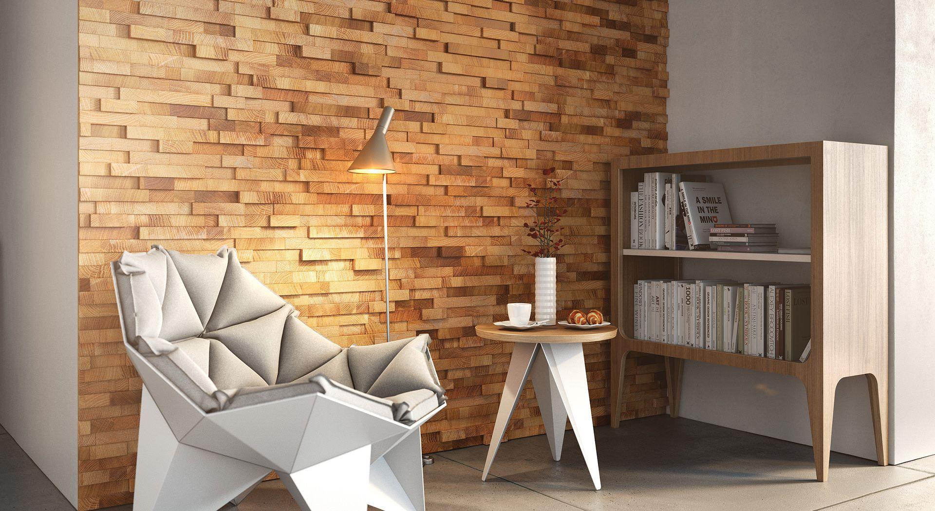 деревянные панели для стен лофт