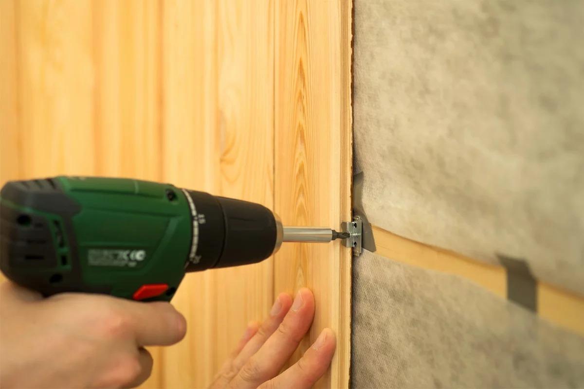 деревянные панели для стен монтаж