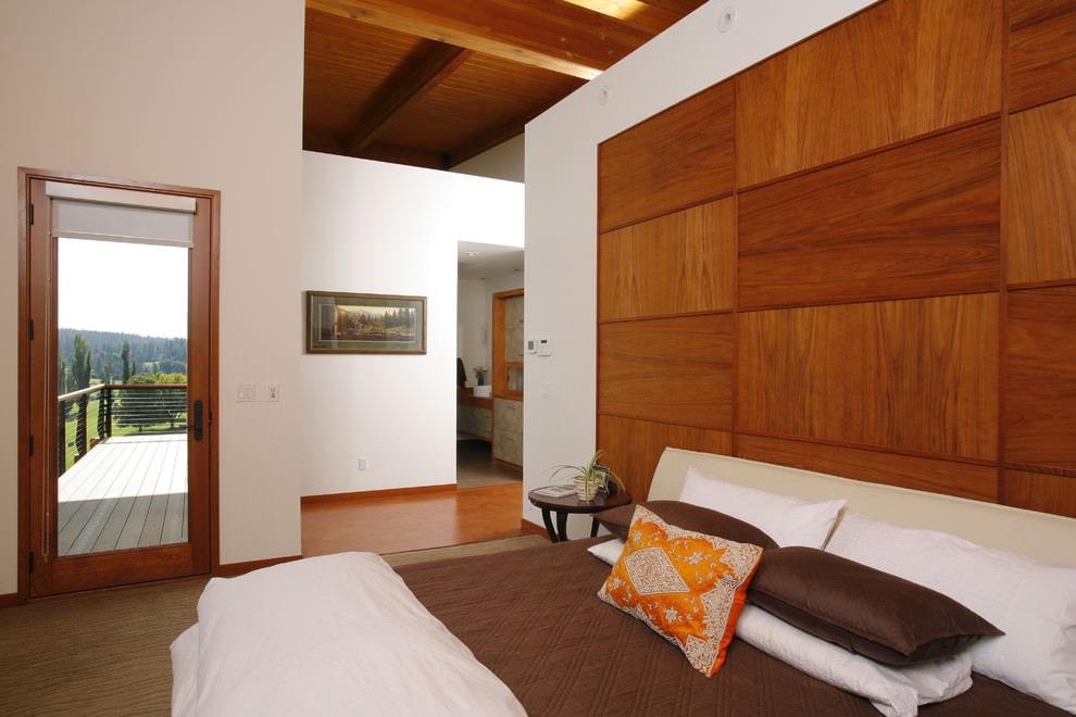 деревянные панели для стен оформление