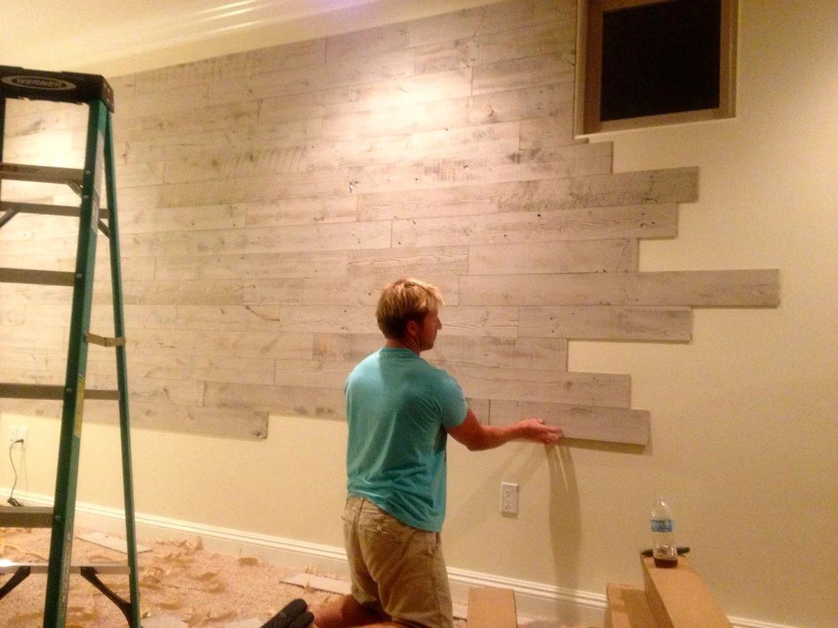 деревянные панели для стен отделка