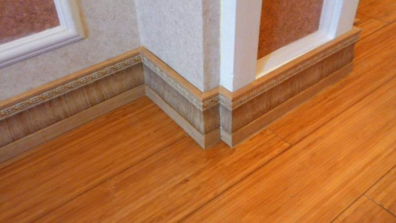 деревянный плинтус дизайн