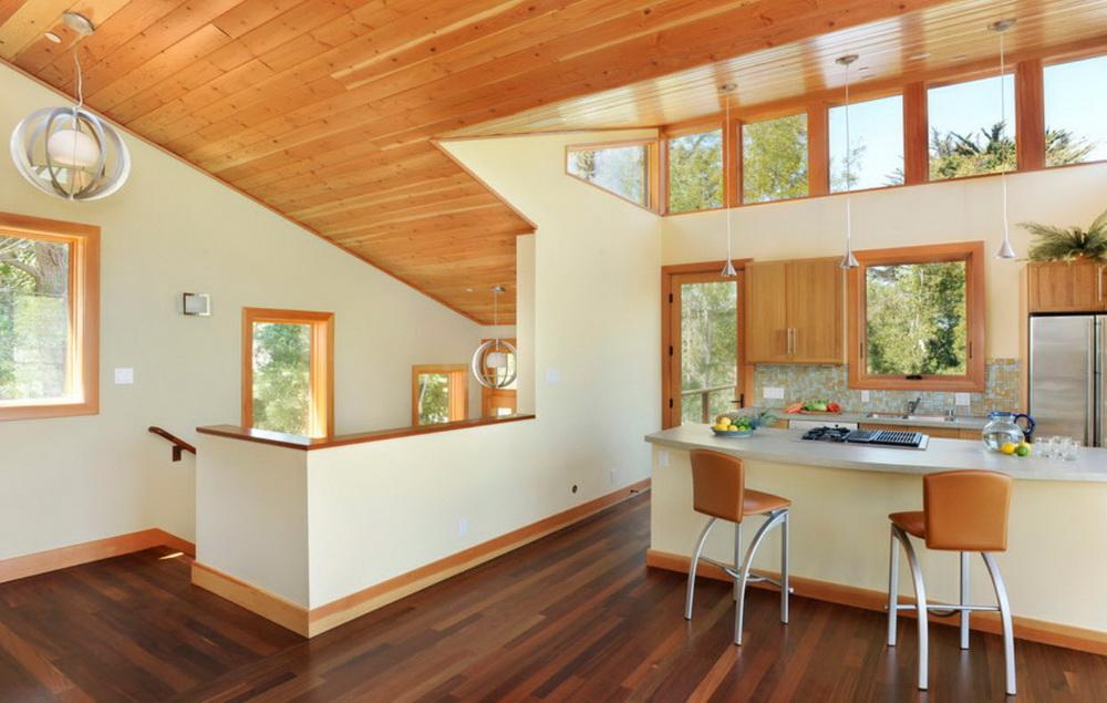 деревянный плинтус для кухни